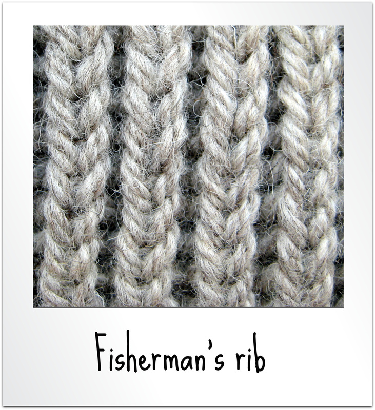 How to Knit into the Stitch Below - Knitting Patterns by Amanda Berry