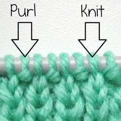 Knitting Stitches Knit And Purl : How to knit one purl one - Amanda Berry