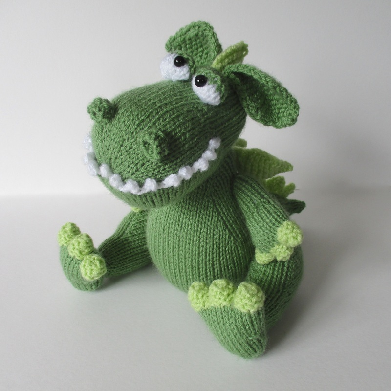 Knit Dragon Pattern : Knitting Patterns - Amanda Berry