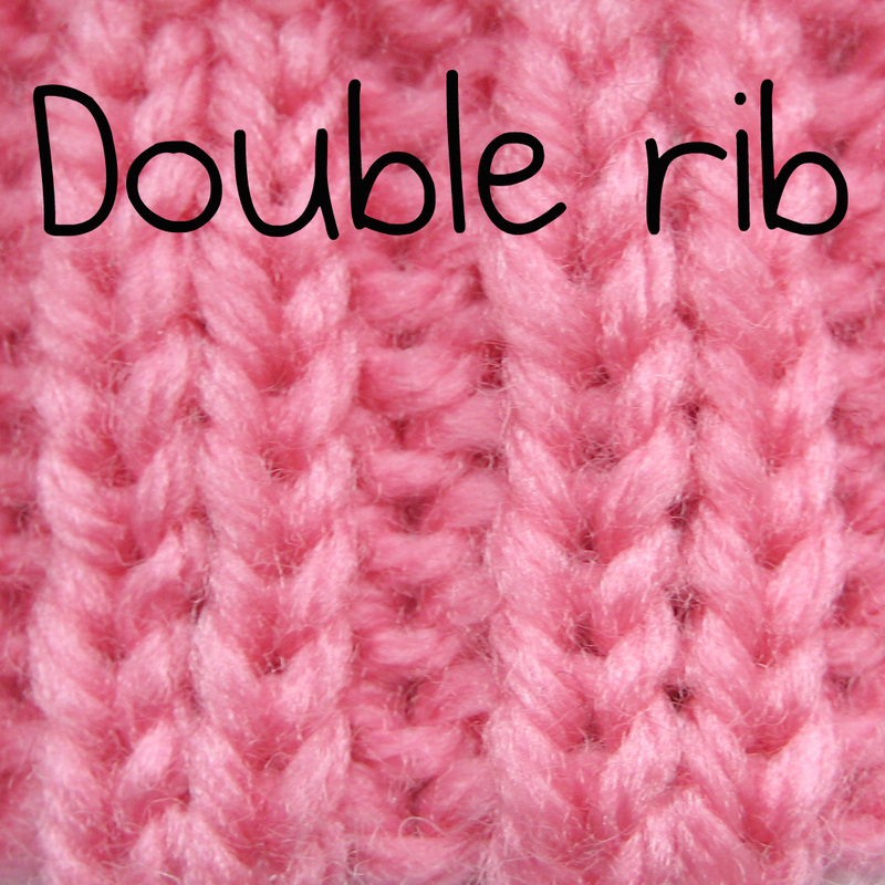 Knit Two Purl Two Pattern : How to knit one purl one k1 p1 rib knitting - KNITTING PATTERNS by AMANDA BERRY